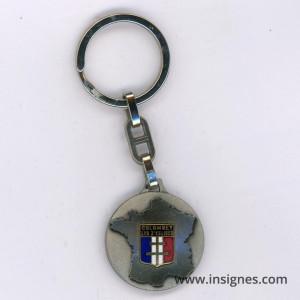 Colombey les 2 eglises (Charles De Gaulle) porte clés