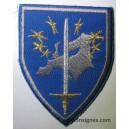 Corps européen Eurocorps Insigne de manche Tissu