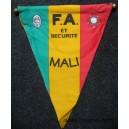 F.A et SECURITE MALI Fanion Tissu