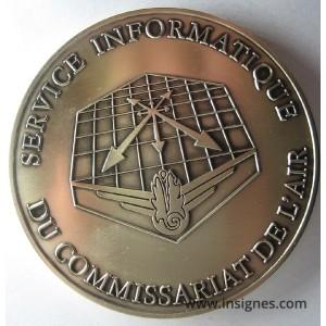 Service Informatique du Commissariat de l'Air Fond de coupelle 68 mm
