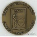 Centre Médical des Armées Grenoble Annecy Chambéry Médaille de table