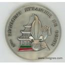 2° REG Les Sous-Officiers Médaille de table 68 mm