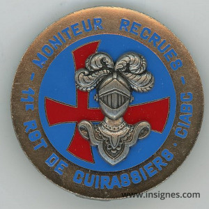 Moniteur Recrues 11° Régiment de Cuirassiers brevet CIABC CARPIAGNE