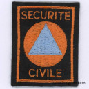 Sécurité civile Tissu