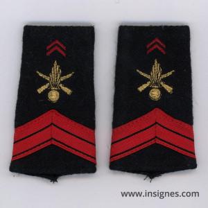 Tissu fourreaux Infanterie Caporal VSL