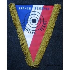 Tissu French Reserves Shooting team Fanion