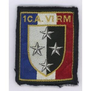 1° CA VI RM 1° Corps d'Armée VI° Région Militaire