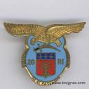 20° Régiment d'Infanterie (émaux)