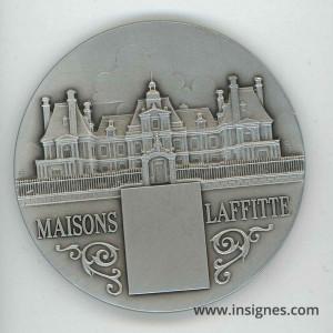 MAISONS-LAFFITTE Médaille de table