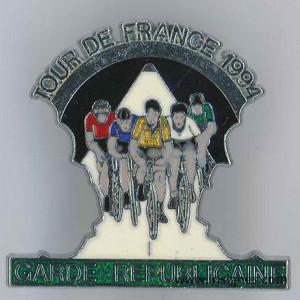 Garde Républicaine tour de france 1994 translucide
