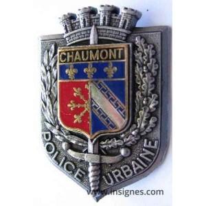 Chaumont - Police Urbaine