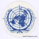 ONU Fond blanc Tissu