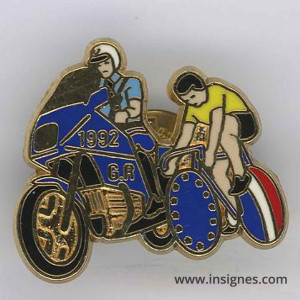 Garde Républicaine Tour de France 1992 jaune