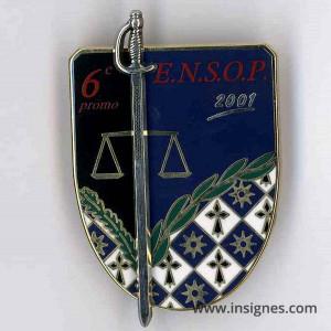 ENSOP Police 6° Promotion ENSOP 2001