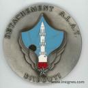 Détachement ALAT DJIBOUTI Médaille de table