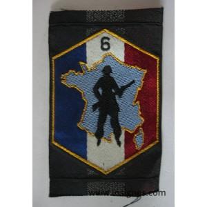 6° Région Militaire DOT Tissu