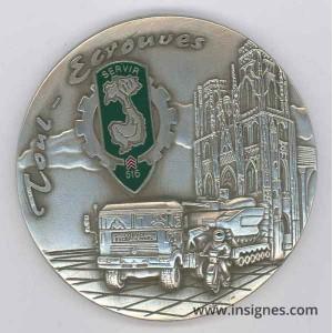 516° Régiment du Train Médaille de table