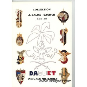 Catalogue collection d'Insignes Militaires Balme (Tome2) de241 a 402