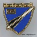 402° Régiment d'Artillerie Antiaérienne Pin's