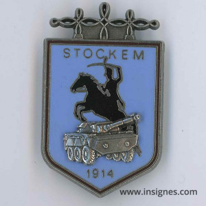 2° Régiment de Hussards 4° Esc STOCKEM 1914