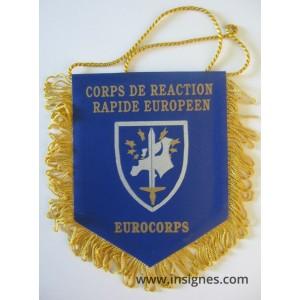 EUROCORPS STRASBOURG Fanion Tissu petit modéle
