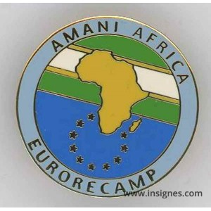AMANI AFRICA EURORECAMP Pin's