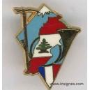 420° DSL Pin's Chasseurs Alpins Liban