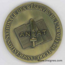 ANDRAT Association Nationale des Réserves de l'AT Médaille de table 68 mm