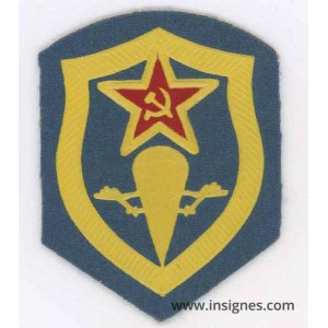 RUSSIE Parachutiste Insigne de bras URSS