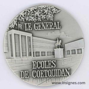 Ecoles de Coetquidan Le Général Fond de coupelle 70 mm