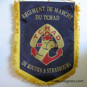 RMT Régiment de Marche du Tchad Fanion