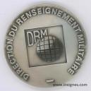 DRM Direction du Renseignement Militaire Médaille de table 70 mm