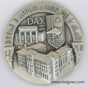 Ecole d'Application de l'ALAT DAX Médaille de table