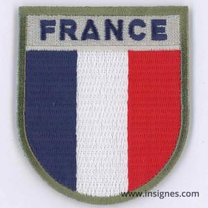 FRANCE Tissu Patch + velcro