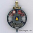 Brevet Aide- Moniteur IEC Garde épée dorée bouclier argenté