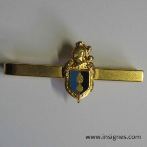 Gendarmerie Nationale Pince a cravate Ecu bleu et noir