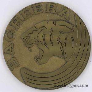 BAGHERRA Médaille de table 68 mm