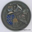 Région de Gendarmerie FRANCHE COMTE Médaille de table 80 mm