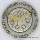 Le Chef d'Etat-Major de l'Armée de l'Air Médaille de table 70 mm