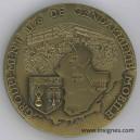 Groupement 2/6 de la Gendarmerie Mobile Médaille 65 mm