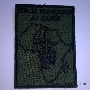 Forces Françaises au Gabon Basse visibilité Insigne de manche Patch Tissu