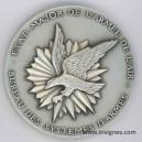 Etat-Major Armée de l'Air Bureau Systéme d'Armes Médaille de table 65 mm