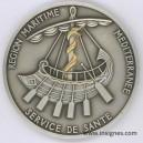 Service de Santé Région Maritime Méditerranée Fond de coupelle 68 mm