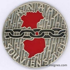 ANAPI Association Nationale Anciens Prisonniers d'Indochine Médaillette 30 mm