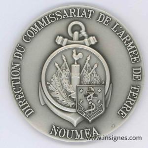 Commissariat de l'Armée de Terre DIRCAT NOUMEA Nouvelle-Calédonie Fond de coupelle