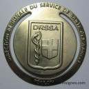 DRSSA TOULON Marque page Santé