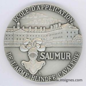 Ecole d'Application de l'ABC SAUMUR Médaille de table 68 mm