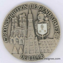 Circonscription de Gendarmerie de LILLE Fond de coupelle 68 mm