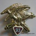93 Régiment d' Artillerie de Montagne Insigne Arthus-Bertrand H 324