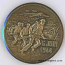 6 Juin 1944 Débarquement Gold Juno Sword Médaille 30 mm